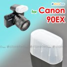 Flash Bounce Diffuser Cap for Canon Speedlite 90EX