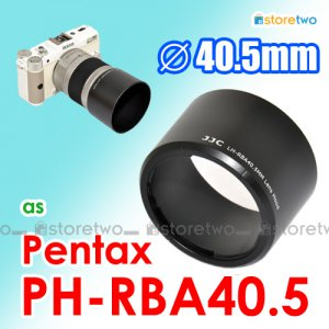 PH-RBA40.5 40.5mm - JJC Lens Hood for Pentax Q 06 Telephoto Zoom 15-45mm f/2.8