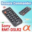 RMT-DSLR2 - JJC Infrared Wireless Commander Remote for Sony Alpha Camera