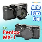 JJC Self-retaining Auto Lens Cap for Pentax MX-1 Black (ALC-MX1)