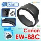 EW-88C - JJC Lens Hood for Canon EF 24-70mm f/2.8L II USM 82mm Filter Thread