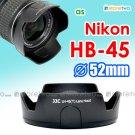 HB-45 - JJC Tulip Lens Hood for Nikon AF-S 18-55mm f/3.5-5.6G VR DX NIKKOR