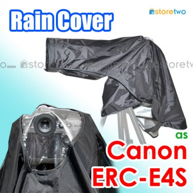 ERC-E4S - JJC Rain Cover Jacket For Canon and Nikon Camera (32.3 x 29.9 inches, 820 x 760 mm)