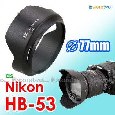 HB-53 - JJC Lens Hood for Nikon AF-S DX NIKKOR 24-120mm f/4G ED VR