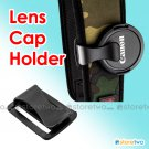 Camera Lens Cap Clip Holder Neck Strap Keeper Universal U-Clip S-Clip Buckle JJC