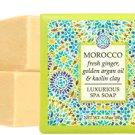 MOROCCO—fresh ginger, golden argan oil & kaolin clay
