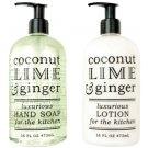 COCONUT, LIME & GINGER