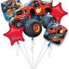 Blaze and the Monster Machine Balloon Bouquet Set Party Decoration for Kids