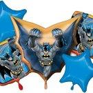 Batman Foil Balloon Bouquet