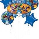 Skylanders Balloon Bouquet (5) Balloons