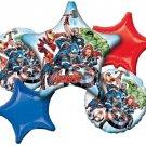 Avangers Balloon Bouquet (5) balloons
