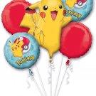 Pokemon Balloon Bouquet (5) balloons