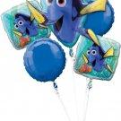 Disney Finding Dory Balloon Bouquet, 5 Balloons
