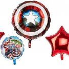 Avengers Shield Balloon Bouquet