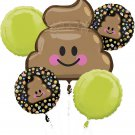 LOL Poop Balloon Bouquet