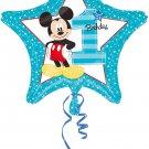1St Birthday Foil Balloon Mickey Mouse