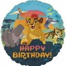 "18"" Happy Birthday Lion King Foil Balloon"
