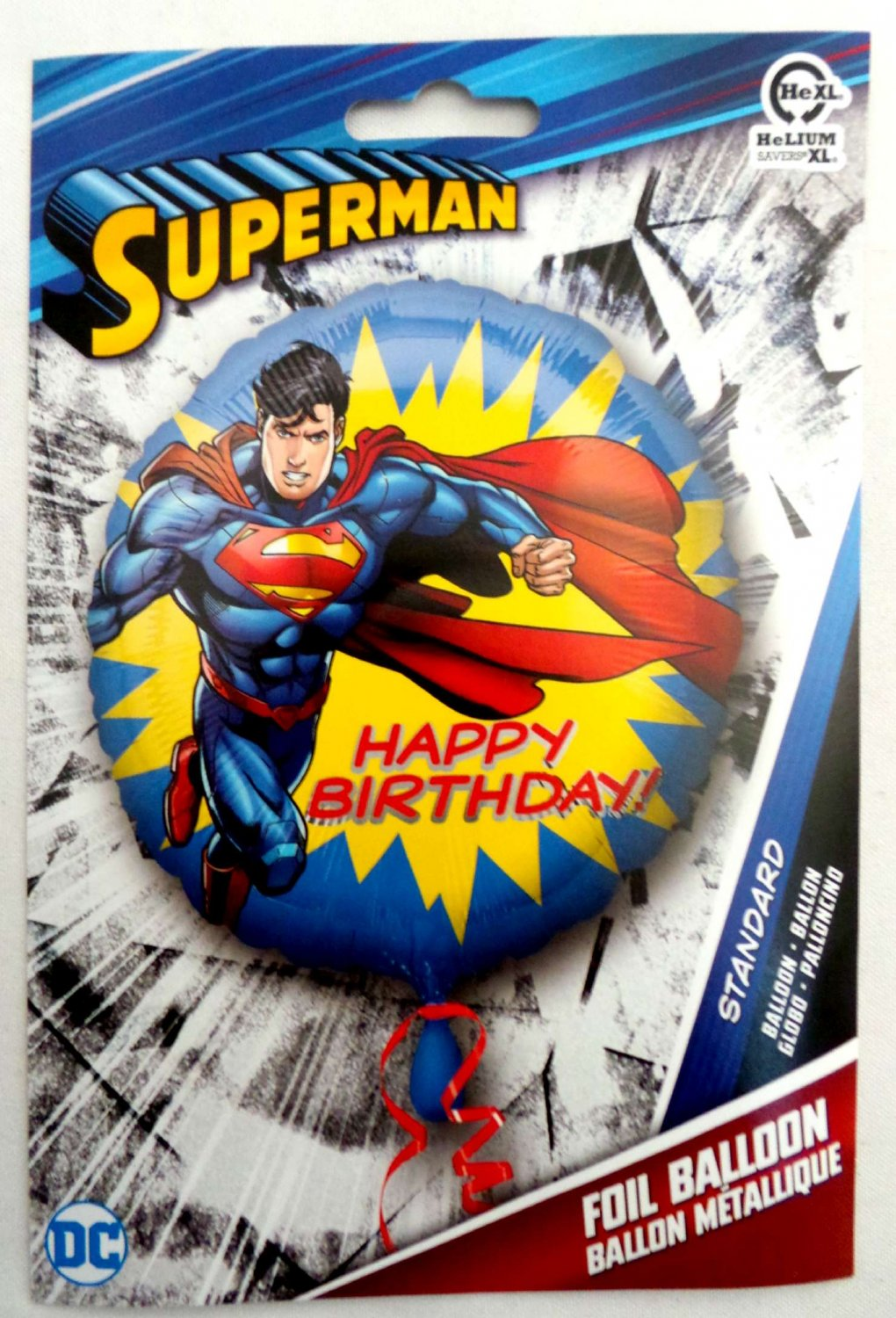 Superman Foil Balloon 18""