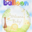 Welcome Baby Jungle Pack Balloon, 18""