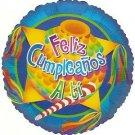 "18"" Feliz Cumpleaños A Ti -  Foil Balloon"