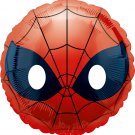 Spiderman  Marvel Superhero Emoji Style Foil Party Balloon, 17""