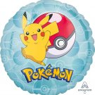 "17i"" Pokemon Pikachu Pokeball Foil Balloon"