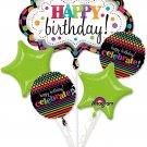 Happy Birthday Marquee Balloon Bouquet