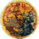 "Pirates of the Caribbean Mylar Balloon 18"""
