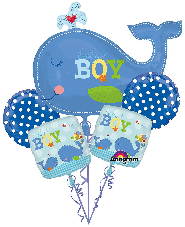 Ahoy Baby Balloon Bouquet