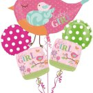 Tweet Baby Girl Balloon Bouquet