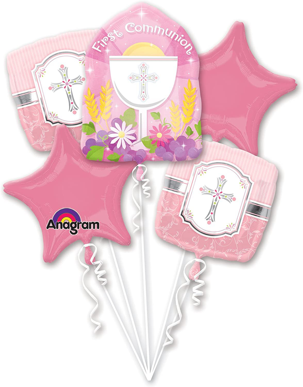 Communion Blessing Balloon Bouquet