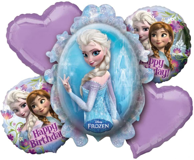 Disney Frozen Birthday Balloon Bouquet