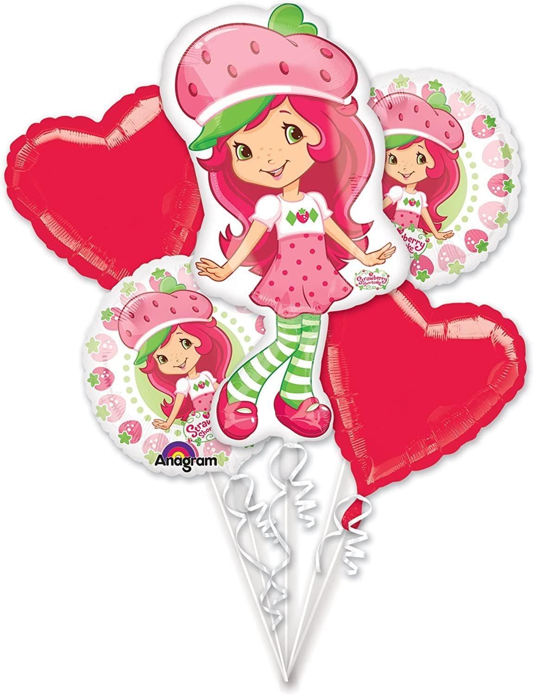Strawberry Shortcake Balloon Bouquet
