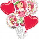 Strawberry Shortcake Balloon Bouquet