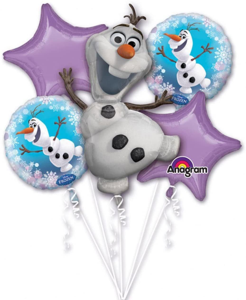 Frozen Olaf Bouquet Balloon