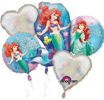 Little Mermaid Balloons - Ariel Balloon Bouquet