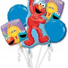 Sesame Street 1st Birthday Balloon Bouquet