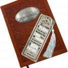 Precious Moments Pray It Forward Collection Prayer Journal with Metal Bookmark Set