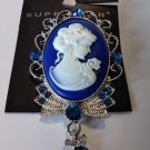 Victorian Style Cameo Brooch Pin
