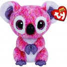 Ty Beanie Boos Kacey The Pink Koala Plus