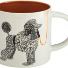 "Enesco Wild About Words Poodle Mug, 3.5"""