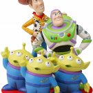 Disney and Pixar We Look Up To You Woody, Buzz and Martian Figurine