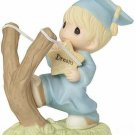Precious Moments SHOOT FOR THE STARS Porcelain Figurine