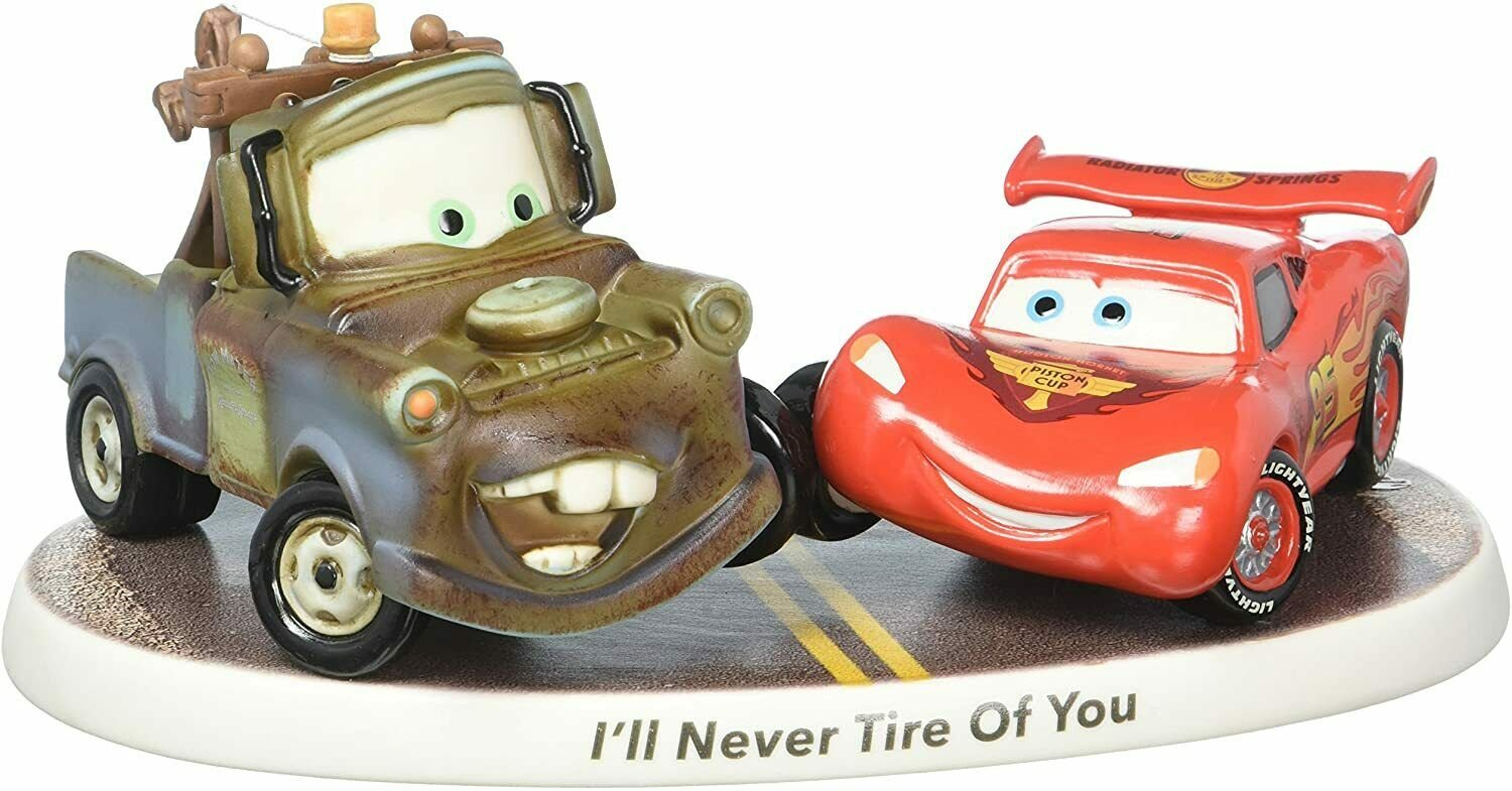 Disney Showcase Collection I'll Never Tire of You Bisque Porcelain Figurine