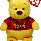 "Ty Beanie Babies Winnie The Pooh Sparkle Plush 6"""