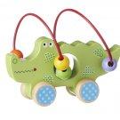 Wooden Alligator Push Toy