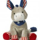 Patriotic Donkey Stuffed Animal
