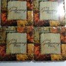 Gathering Place Coasters Set, Set of 4