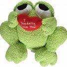 Precious Moments Company Frog Holding Heart Plush Figurine