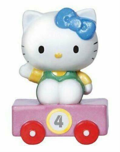 Hello Kitty Train Car Number 4 Figurine